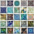 "20x20"" Bohemian Velvet Throw Pillow Cover Sofa Couch Bed Decorative Cushion Case"