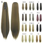 Fashion Gripper Horsetail Wig New False Masson Colorful Long Straight Wig