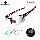 ROCKBROS Cycling Photochromic Sunglasses Ridding OutSports Anti-UV400 Goggles UK