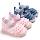 Pleated Bordered Shallow Soft Soled Toddler Baby Shoes For G