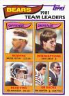 1982 Topps Football Cards Pick From List Includes Rookies 201-400 $0.99 USD on eBay