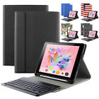 """For iPad 9.7 2018 Keyboard Case w/ Pencil Holder """"Slim Shell Cover"""" 5 Color"""