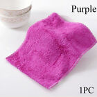 Household Bamboo Fiber Dish Cloth Washing Towel Cleaning Rags Scouring Pad