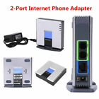 VoIP Gateway Router PAP2T with 2 Phone Port Phone Adapter Support DHCP Sip V2 CO