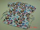NWT Women's Medical Scrub Top Betty Boop Hearts Love Health worker garb garment $17.25 CAD on eBay