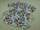 NWT Women's Medical Scrub Top Betty Boop Hearts Love Health worker garb garment $12.98 USD on eBay