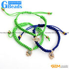 "Hand-Woven Jewelry Turkey Evil Eye Style Bracelet 7"" Adjustable with Gift Box"