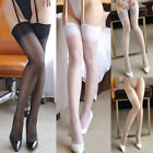 Sexy Women Lady Lace Stay Up Thigh-High Silk Stockings Knee Socks Tights 5 Color