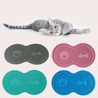 Pet Dog Puppy Cat Feeding Mat Pad PVC Bed Dish Bowl Food Feed Placement Fashion