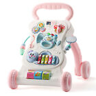 Kid Baby Walker Push Activity Prewalker First Steps Toy Trolley with Music NEW
