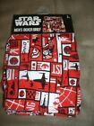 NEW - STAR WARS Rebel Alliance Boxer Briefs Red Black White Small Large or Extra