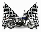 Custom T-Shirt Checkered Flag 2014 Triumph Bonneville (Checkered 0500) $19.99 USD on eBay