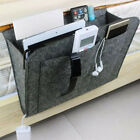 Bedside Pocket Caddy Organizer Hanging Storage Bed Desk Bag Phone Book Holder UK