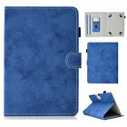 Leather Flip Stand with Card Slot Case Cover For Samsung 7.0 8.0 10 Inch Tablet