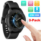 3-Pack Clear Tempered Glass Screen Protector for Samsung Galaxy Watch 42mm/46mm