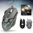 Mechanical Wired Gaming Mouse 4000DPI Professional 7Buttons Optical Mice Creativ