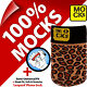 Mocks Leopard Mobile Phone MP3 Sock Case Cover Pouch for iPhone 4 4S 5 5S 5C SE