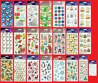 U Choose Sticko Christmas & Winter Stickers Snowflakes Snowman Santa Tree Holly