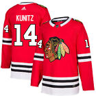14 Chris Kunitz Jersey Chicago Blackhawks Home Adidas Authentic