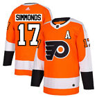 17 A Wayne Simmonds Jersey Philadelphia Flyers Home Adidas Authentic