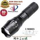Zoomable Tactical Outdoor 50000LM LEDT6 Flashlight Torch 5-Mode 18650Battery