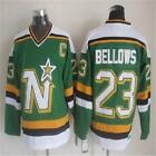 Mens Retro BRIAN BELLOWS Stitched Name&Number Throwback Hockey Jerseys -in Hocke