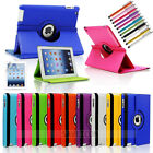 360 Rotating Pu Leather Smart Case With Stand For Apple Ipad Mini Air 2 3 4 Pro
