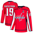19 A Nicklas Backstrom Jersey Washington Capitals Home Adidas Authentic