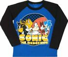 Sonic the Hedgehog t-shirt Size M L XL New Child 5 6 7  8 10 12 14 16 Blue Sonic