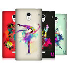 HEAD CASE DESIGNS DANCE SPLASH BACK CASE FOR SHARP PHONES