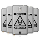 HEAD CASE DESIGNS HAZARD SYMBOLS 2 SOFT GEL CASE FOR SAMSUNG PHONES 2