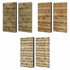 HEAD CASE DESIGNS MUSIC SHEETS LEATHER BOOK WALLET CASE COVER FOR AMAZON FIRE