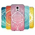 HEAD CASE DESIGNS OLYMPIAN MANDALA SILVER BUMPER SLIDER CASE FOR SAMSUNG PHONES