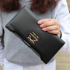 Women Cute Bow Long Leather Thin Wallet Purse Multi ID Credit Card Holder Gift