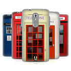 HEAD CASE DESIGNS TELEPHONE BOX SOFT GEL CASE FOR ZTE PHONES