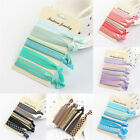 Elastic Mixed Hair Ties Knot Ponytail Holder Hairband Bracelets Rubber Band LAUS