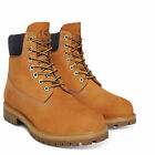 Mens Timberland 6-Inch Waterproof Lace Up Leather Ankle Boots Sizes 6.5 to 12.5