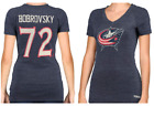 CCM NHL Columbus Blue Jackets #72 Hockey Shirt New Womens Sizes $12.49 USD on eBay