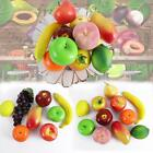 Life like Decoration Plastic Artificial Fake Fruit Home Craft  Realistic Set