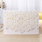 Hollowed Laser Cut Wedding Invitation Chinese Knot Design with Seal and Envelope