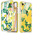 Hybrid Hard Back Dual Layer Shockproof TPE Bumper Case Cover for iPhone XR X XS