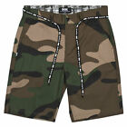 DGK Men's Street Chino Shorts Green   Cool Clothing Apparel