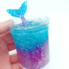 Crystal Mermaid Mud Fluffy Slime Putty Scented Stress Relief No Borax Kids Toys