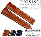 RIOS1931 20mm handmade Germany for Omega Deployant Clasp Watch Strap Band 20/18