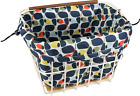 Orla Kiely Olive And Orange basket liner - Various Colours - BNIB
