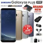 New Unlocked Samsung Galaxy S8+ Plus G955 Black Grey Silver Gold Android Phone
