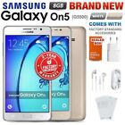 New & Sealed Factory Unlocked Samsung Galaxy On5 G5500 White Gold Android Phone