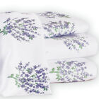 Lovely Lavender Floral Bouquet Sheet Set, by Collections Etc image