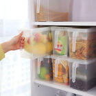 Storage Collecting Box Basket Kitchenette Refrigerator Fruit Food Organiser Lot RS