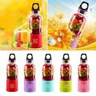 Внешний вид - 500ML Portable Rechargeable USB Electric Fruit Juicer Maker Blender Cup Bottle